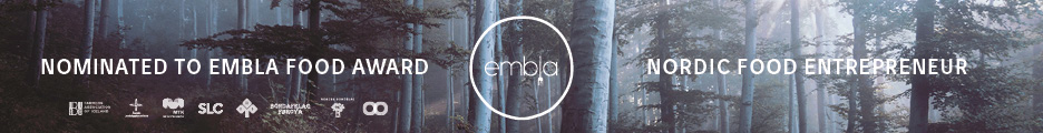 EMBLA Food Entrepreneur of he year 2017 Norway